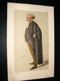 Vanity Fair Print 1888 R. B. Finlay, Legal